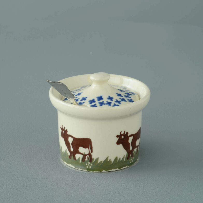 Mustard Pot Small Cow