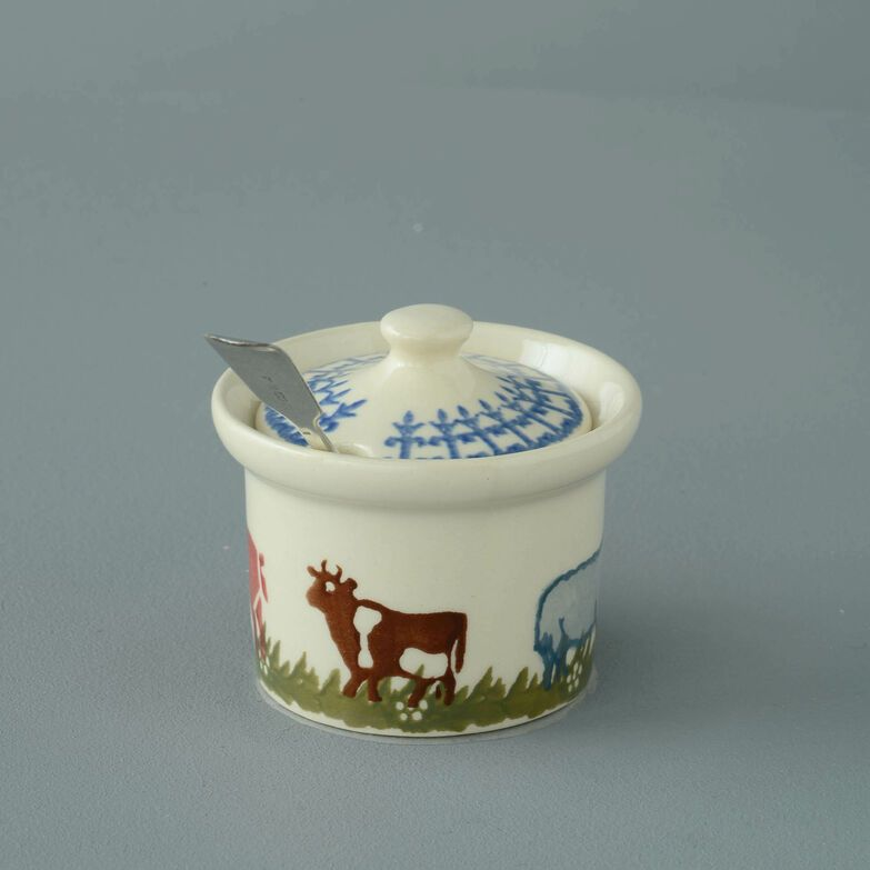 Mustard Pot Small Farm Animal