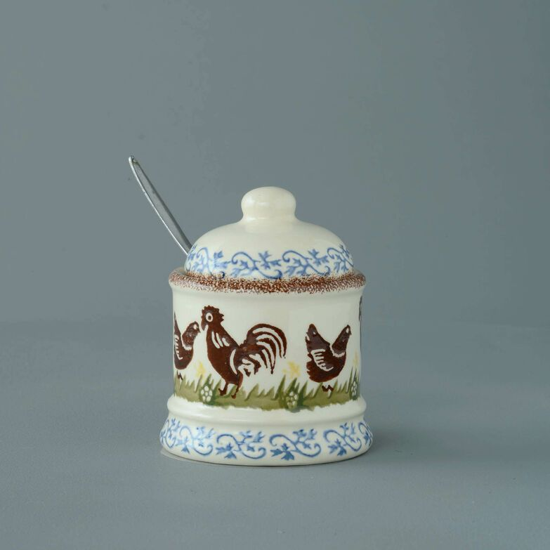 Jam Pot Small Cock & Hen