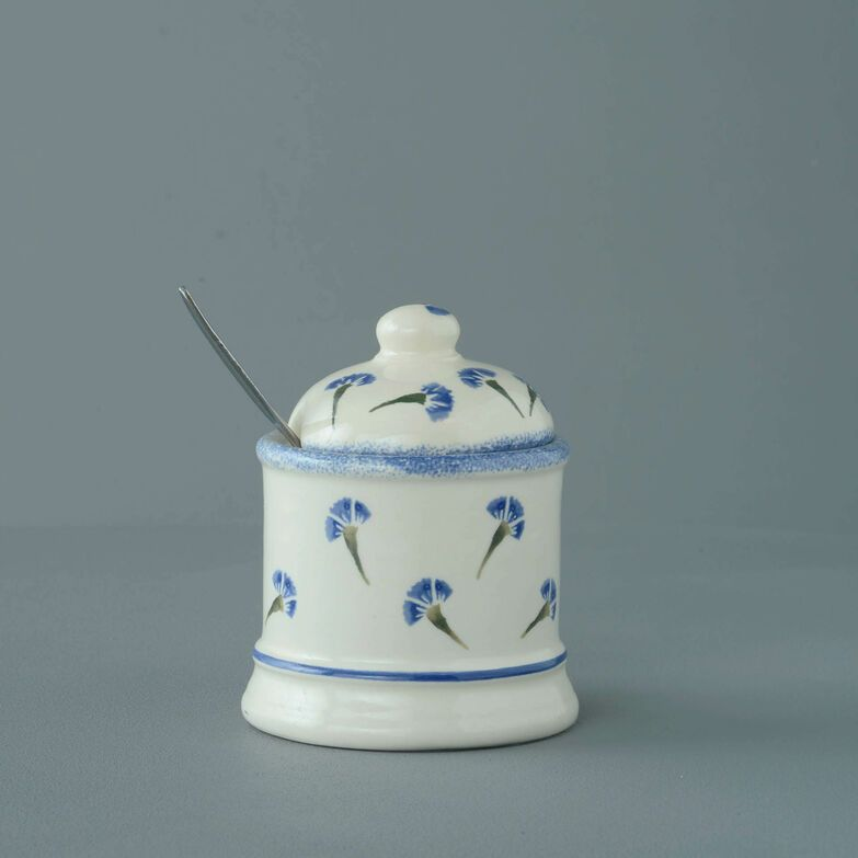Jam Pot Small Cornflower