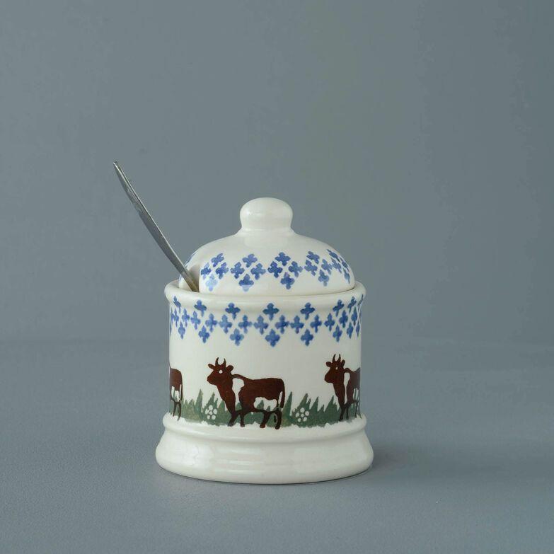 Jam Pot Small Cow