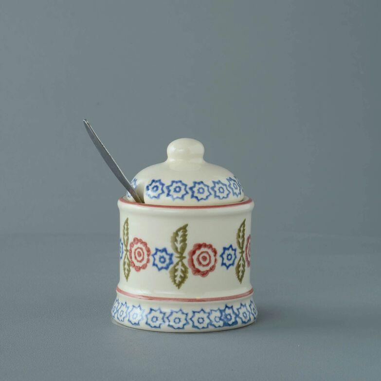 Jam Pot Small Victorian Floral