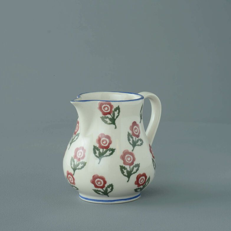 Jug Tiny Scattered Rose