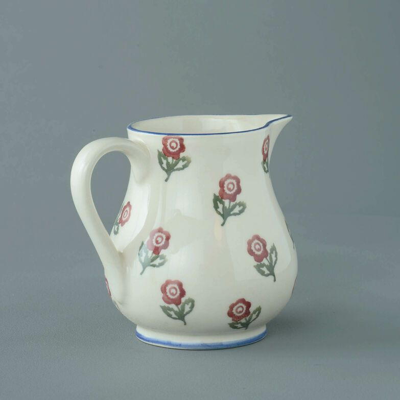 Jug Medium Scattered Rose