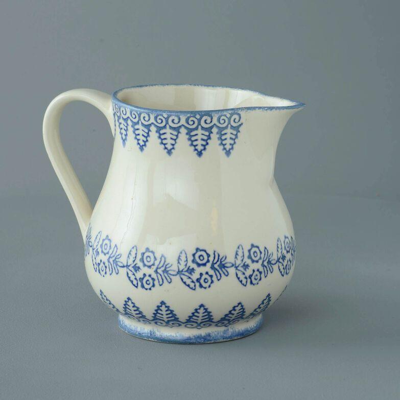 Jug Milk Lacey Blue