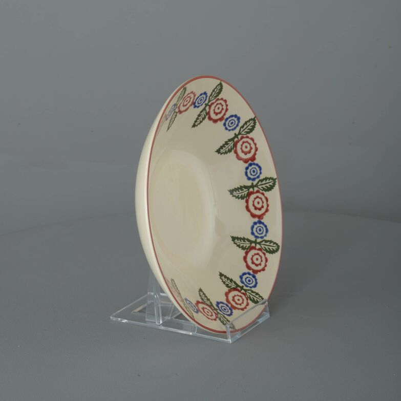Pasta plate  Victorian Floral
