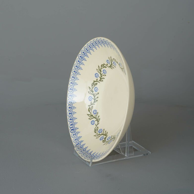 Pasta plate  Floral Garland