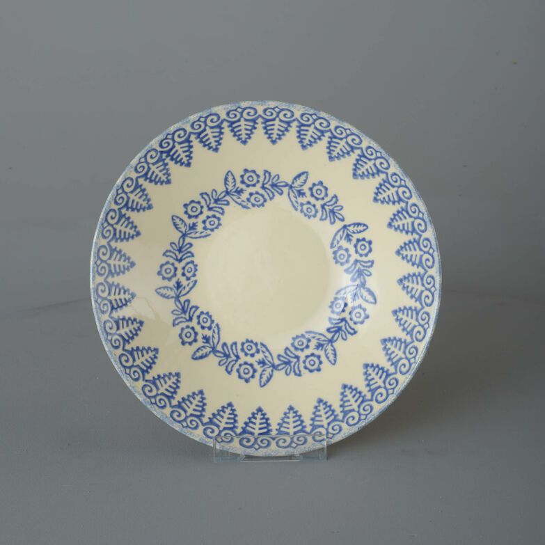 Pasta plate  Lacey Blue