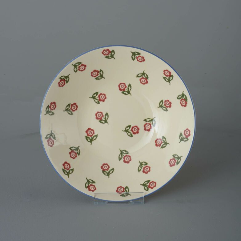 Pasta plate  Scattered Rose