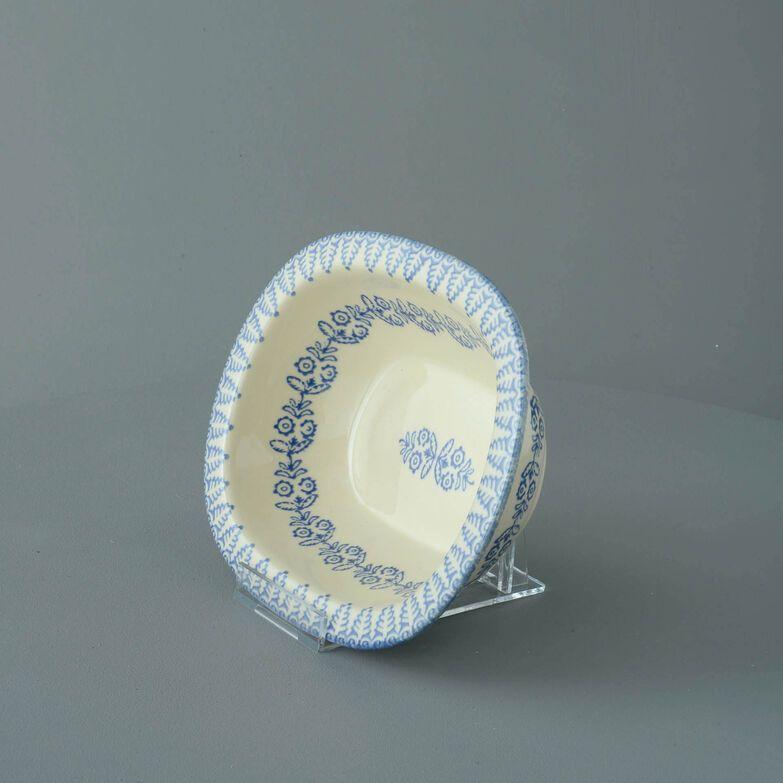 Pie Dish Standard Lacey Blue