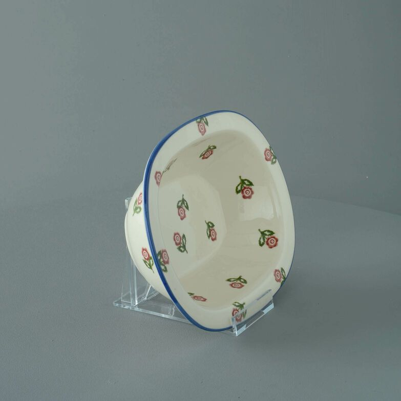 Pie Dish Standard Scattered Rose