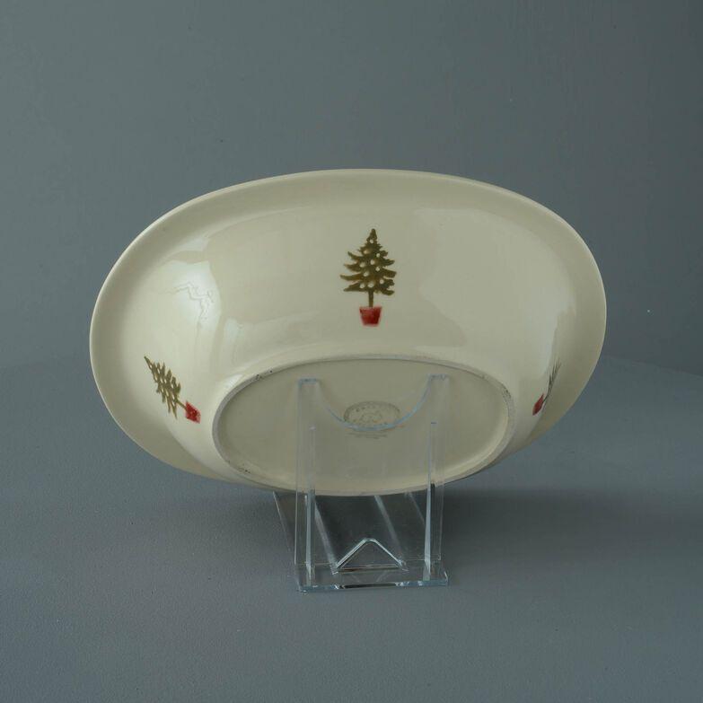Pie Dish Large Christmas Tree