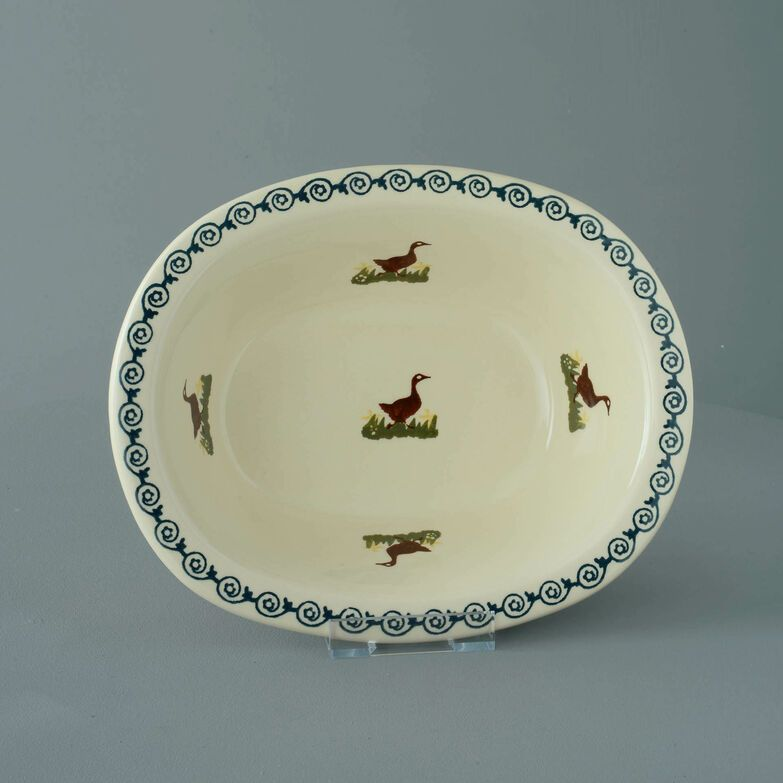 Pie Dish Large Duck