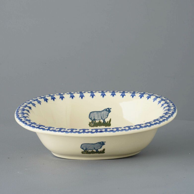 Pie Dish Large Farm Animal