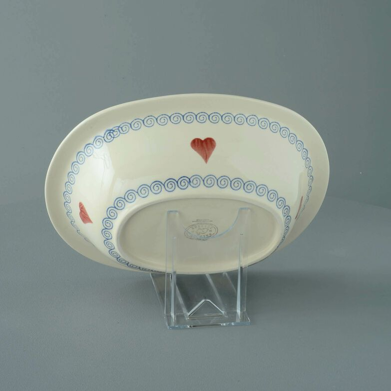 Pie Dish Large Heart