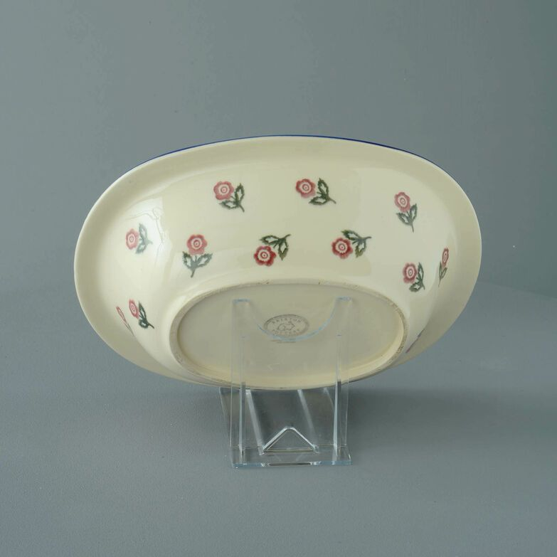 Pie Dish Large Scattered Rose