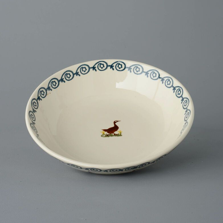 Serving Dish Round Large Duck