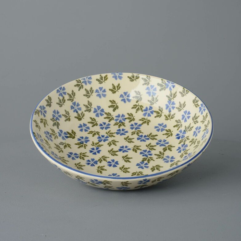 Serving Dish Round Large Geranium