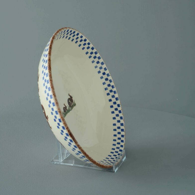 Serving Dish Round Large Rabbit