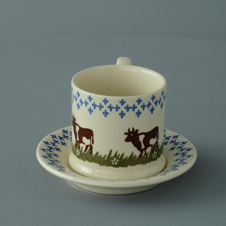 Saucer Small Cow