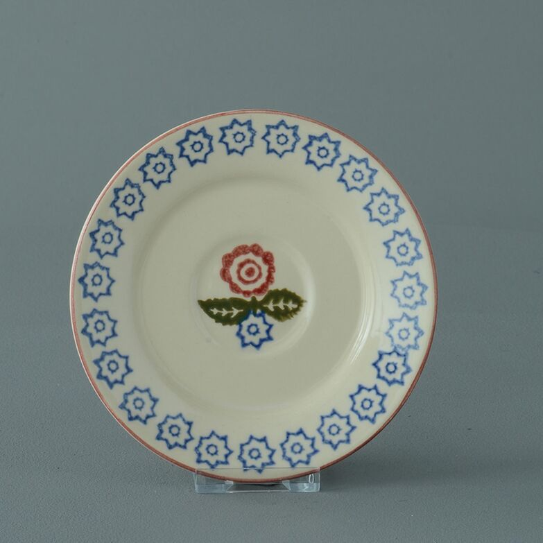 Saucer Small Victorian Floral