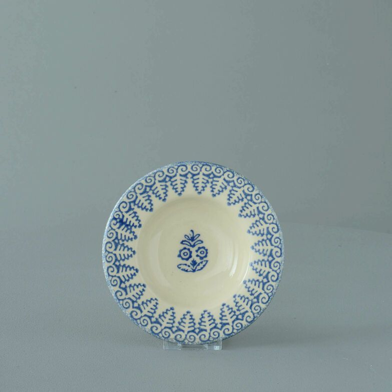 Pickle dish Small Lacey Blue