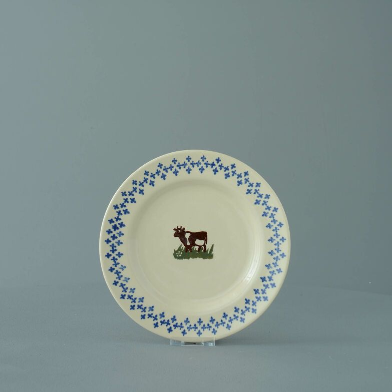 Plate Small Cow