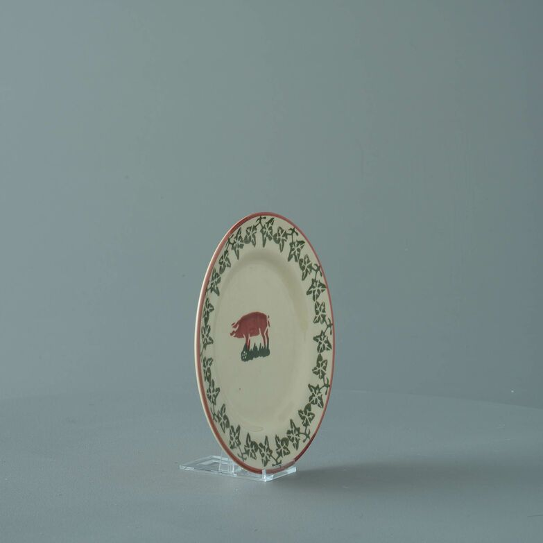 Plate Small Pink Pig