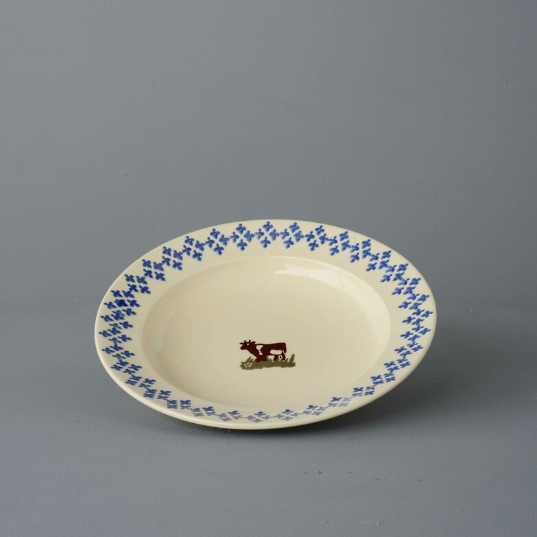 Soup Plate Medium Cow