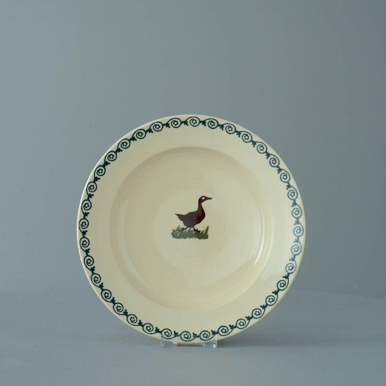 Soup Plate Medium Duck