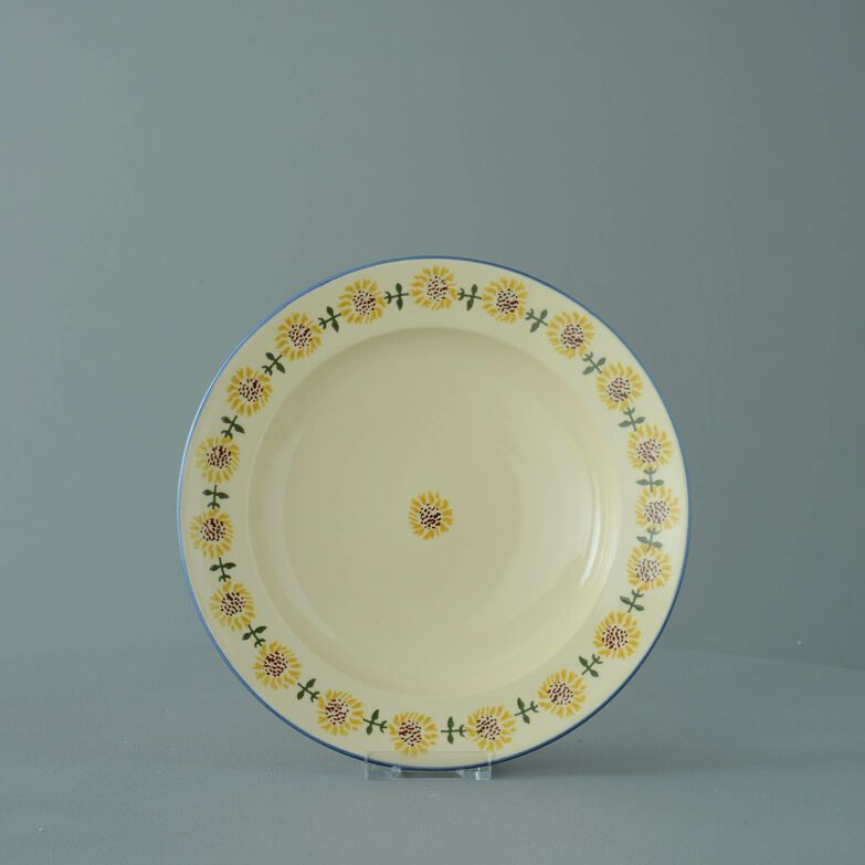 Soup Plate Medium Sunflower