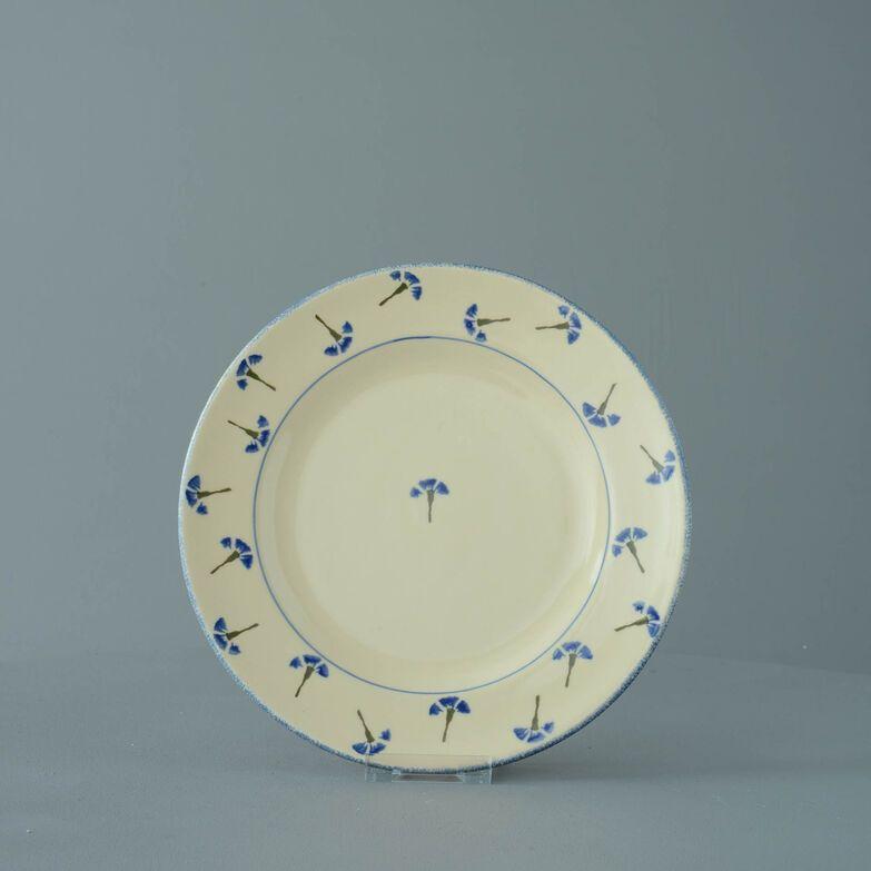Plate Dessert Size Cornflower