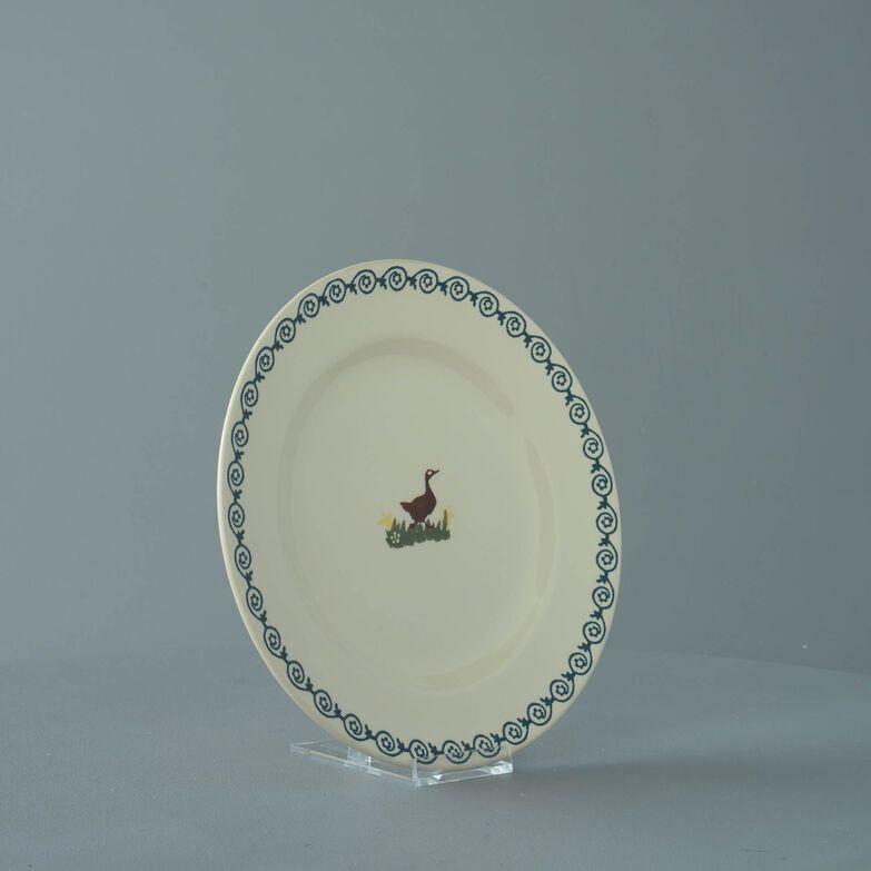 Plate Dessert Size Duck