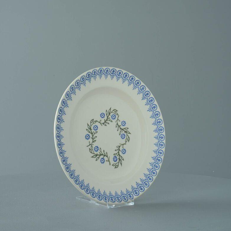 Plate Dessert Size Floral Garland