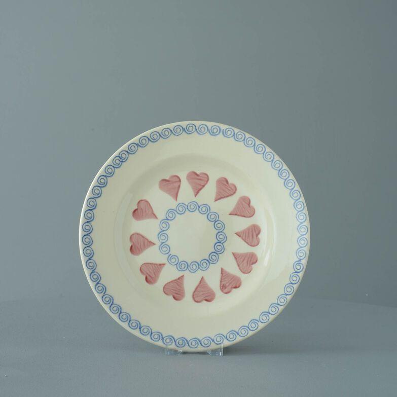 Plate Dessert Size Heart