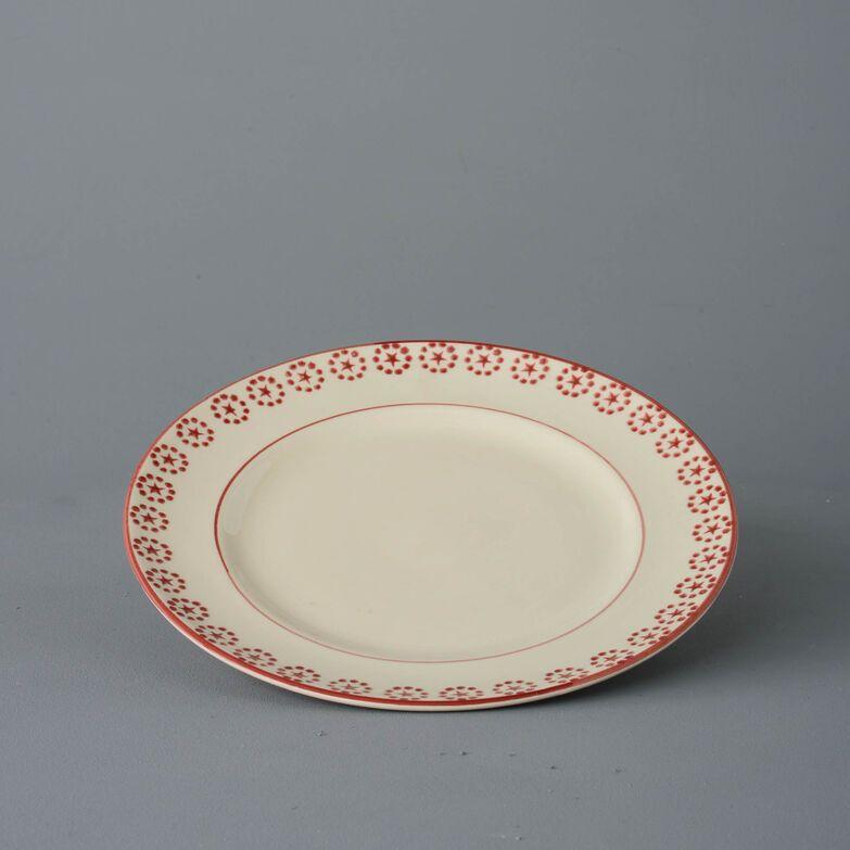 Dufort plate Dinner Size Red Star