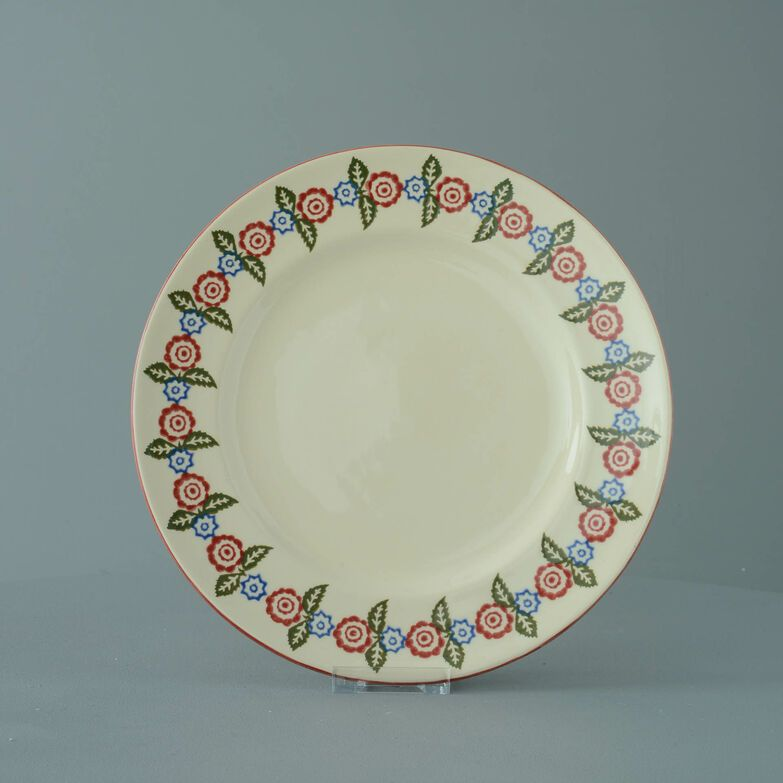 Plate Dinner Size Victorian Floral