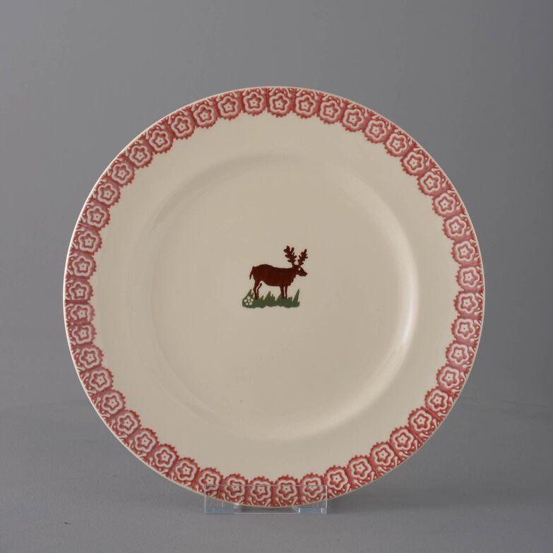 Plate Dinner Size Reindeer