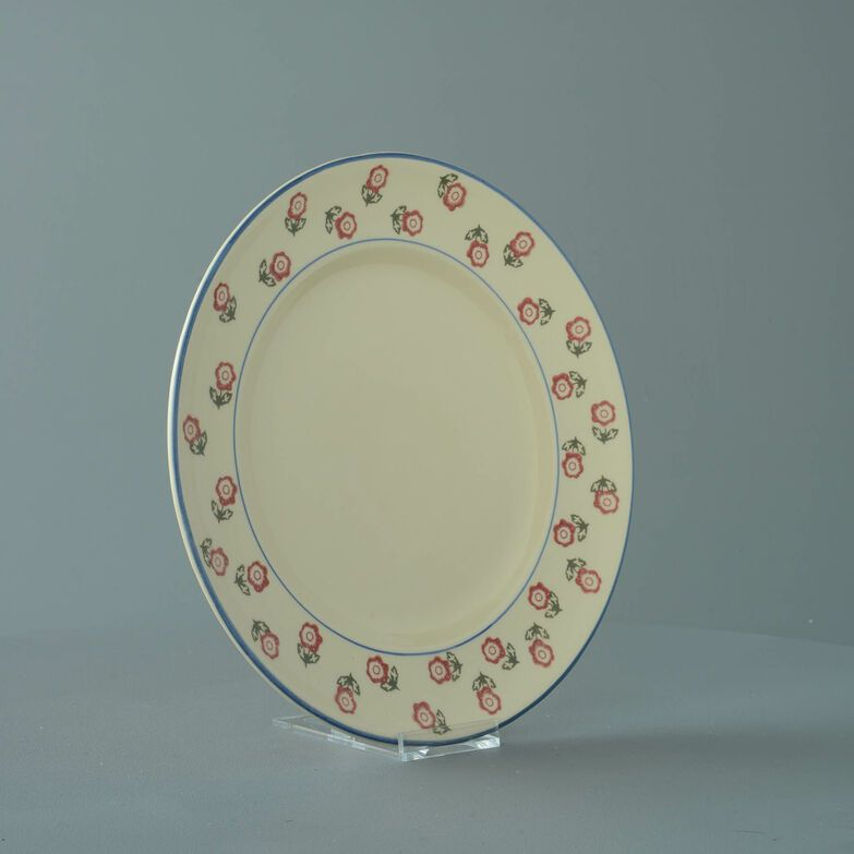 Plate Dinner Size Scattered Rose