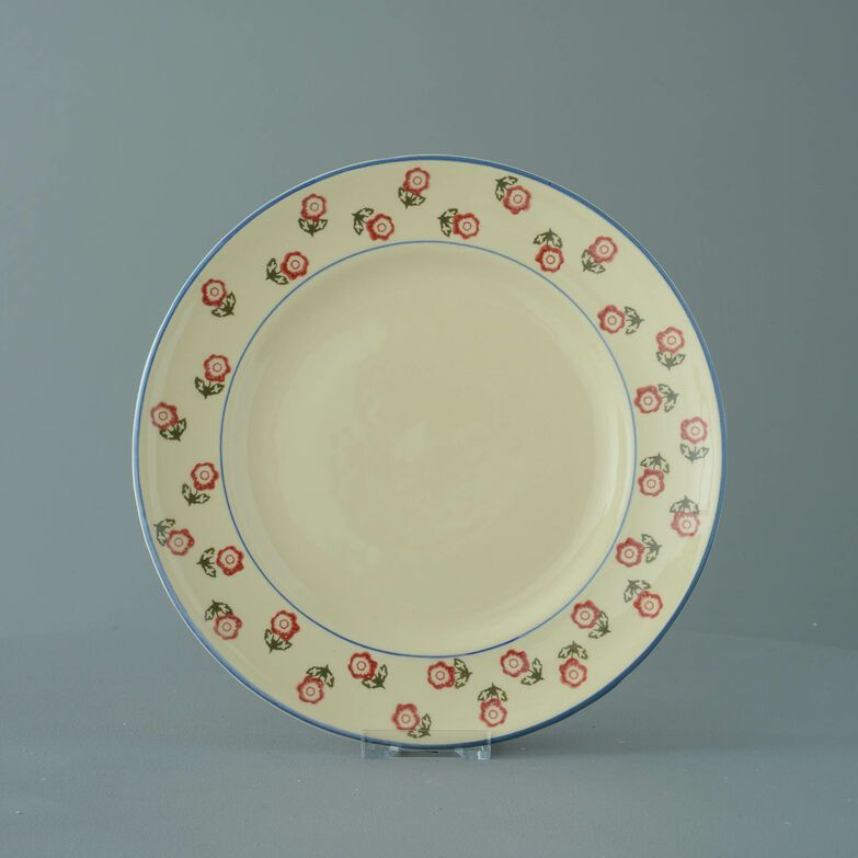 Plate Dinner Size Scattered Rose