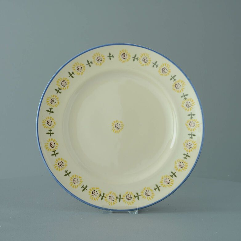 Plate Dinner Size Sunflower