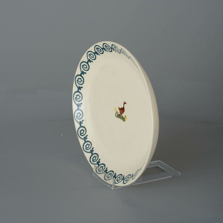 Oval Plate  Duck