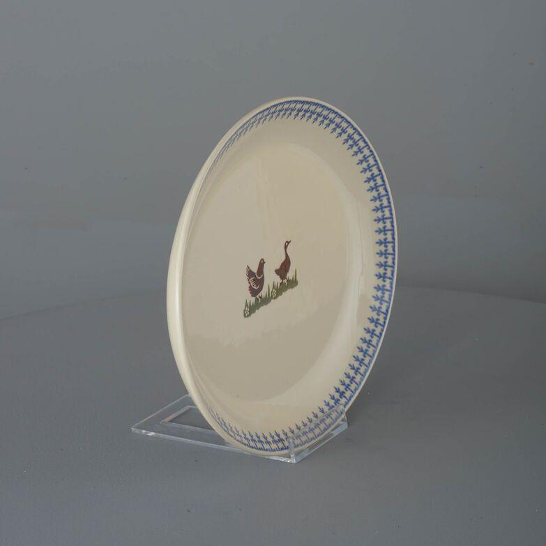 Oval Plate  Farm Animal