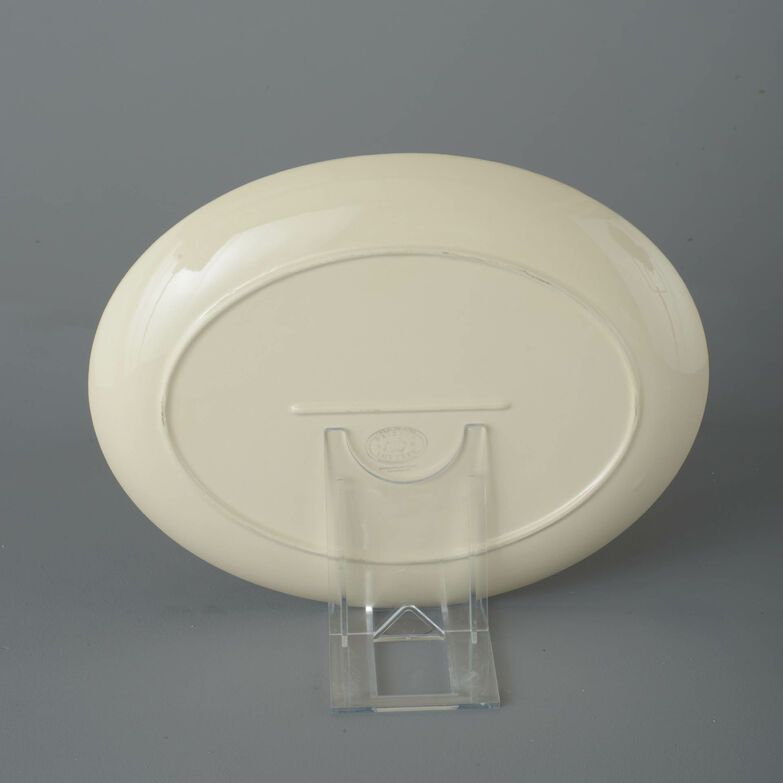 Oval Plate  Geranium