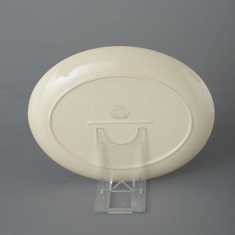 Oval Plate  Poppy
