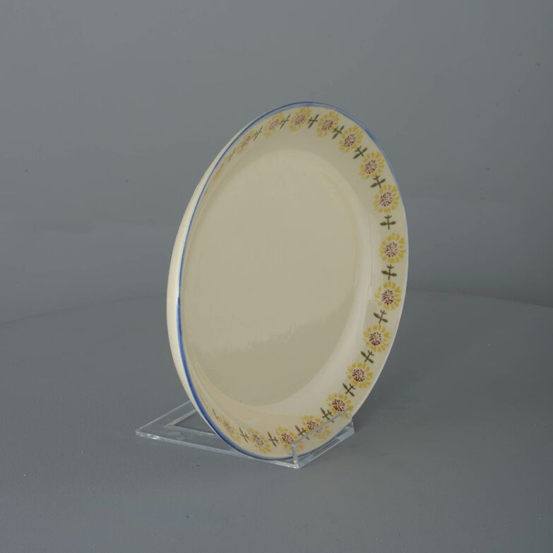 Oval Plate  Sunflower