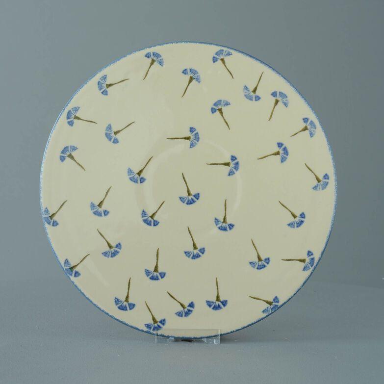 Plate Cheese & Cake Cornflower