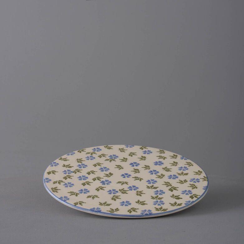 Plate Cheese & Cake Geranium