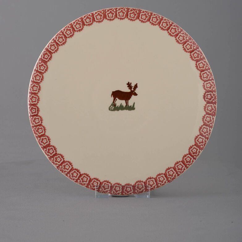 Plate Cheese & Cake Reindeer