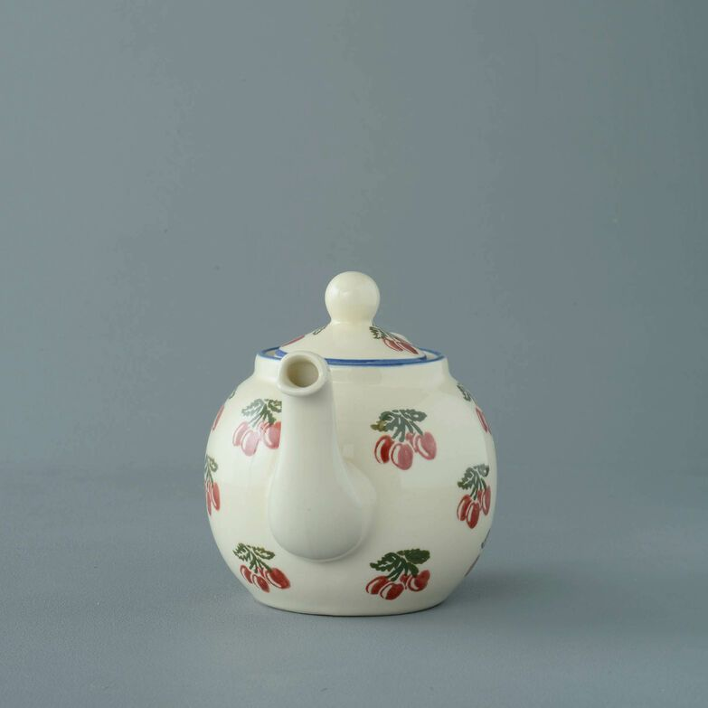 Teapot 2 Cup Cherry